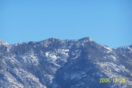 Great view of Catalina Mtns. - Tucson - Rumah