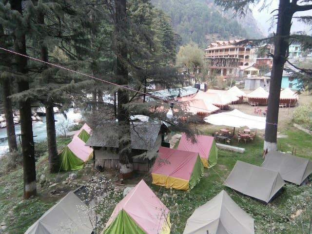 Ecobeds Riverside Tents kasol
