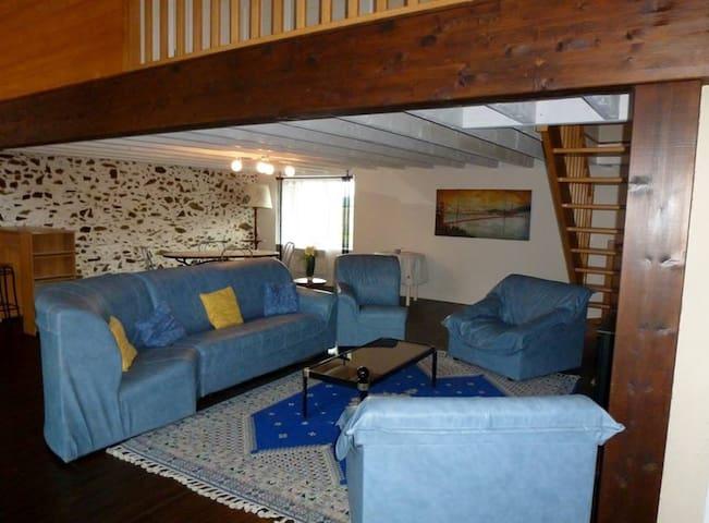 lumineux salon-séjour de 50 m²