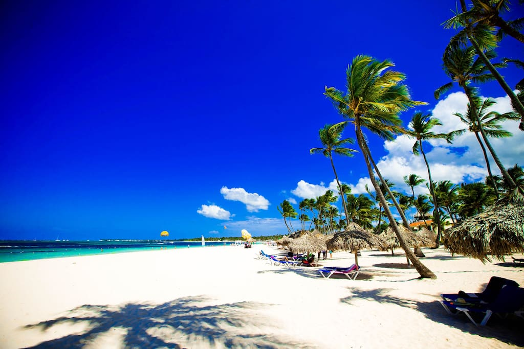 Just a step from your apartment and you are on one of the most beautiful beaches in Punta Cana!
