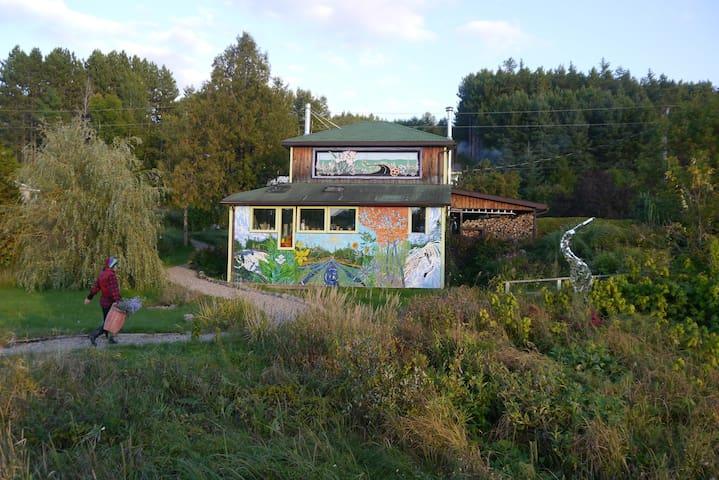 A Cozy Wilno Garden Paradise - Wilno
