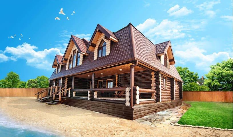 LIPOVOE Village Hotel & Beach Club - Tyumen - Casa