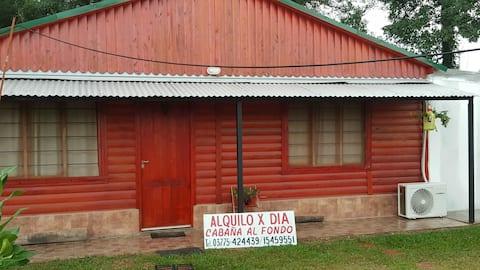 Cabaña Alojamiento en Monte Caseros Corrientes