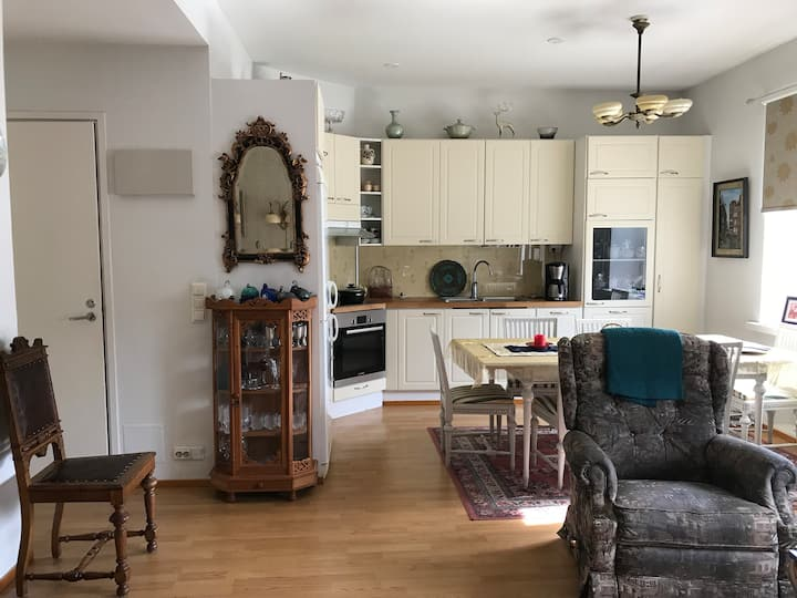 Charming two-room apartment near city and sea
