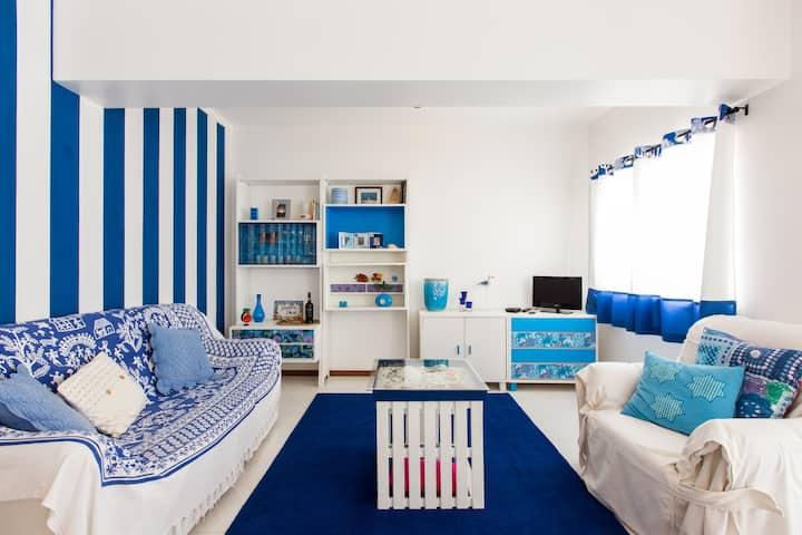 3 Double bed duplex w/ roof terrace