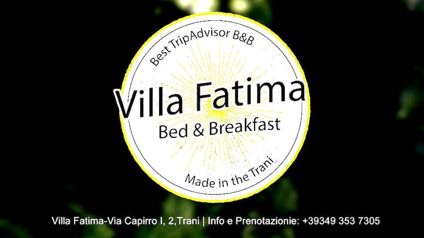 Rooms & Breakfast Villa Fatima with swimming pool.