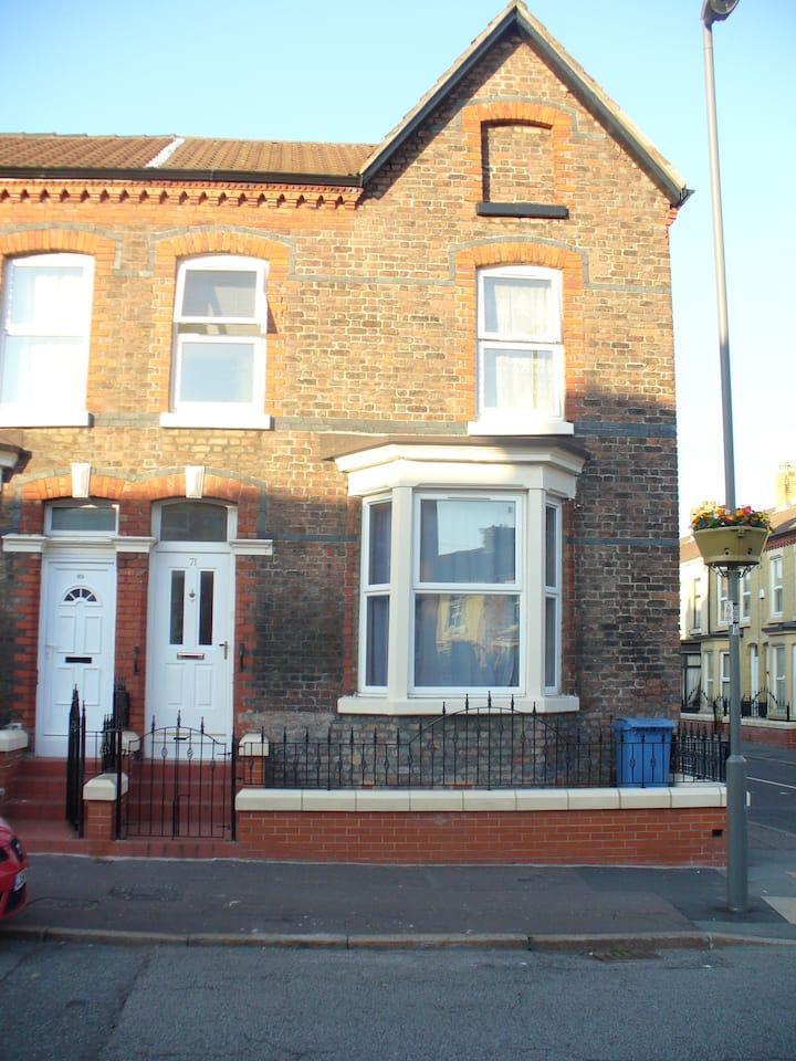 2 bedrooms   in a shared house, Liverpool City
