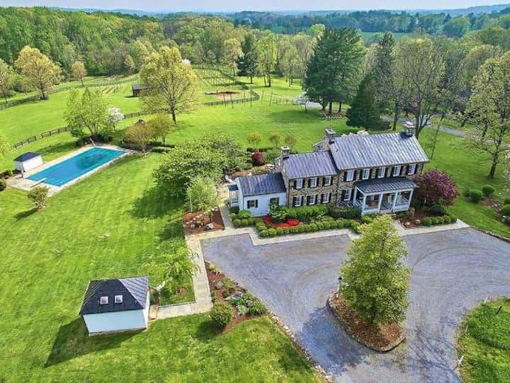 Entire Manor on Historic 150 acre Farm
