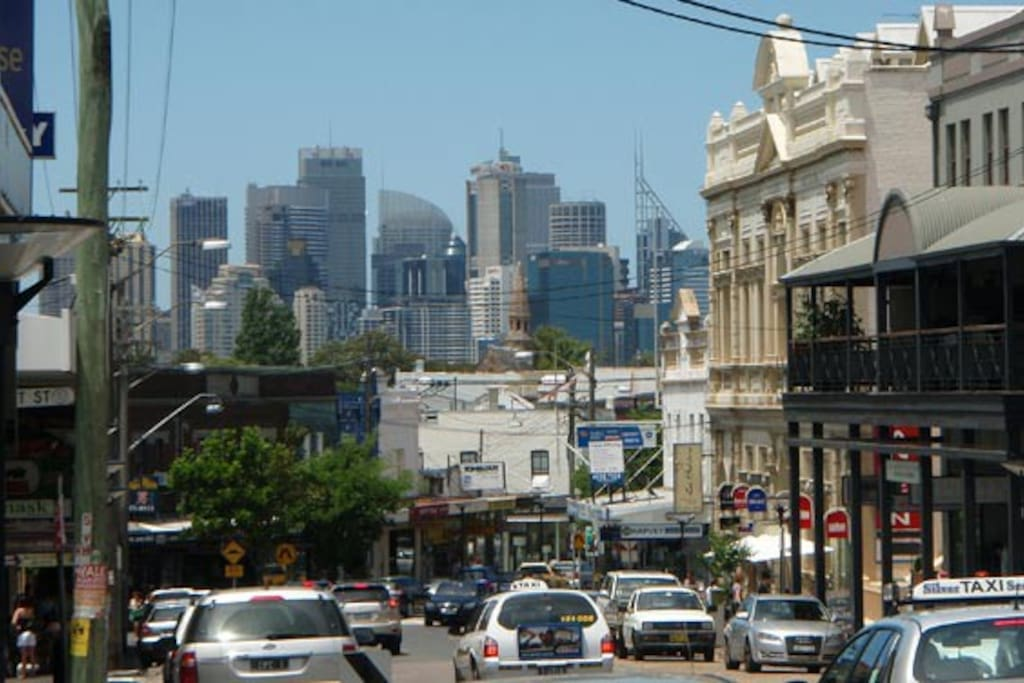 Darling Street, Balmain. 2 kilometres of shops, pubs, restaurants, cafes, funky bars