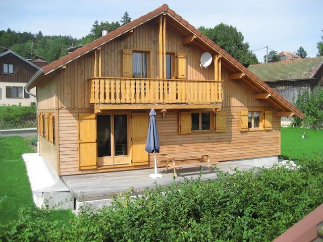 Chalet Lac ST Point, Hamman, 11 prs - Les Grangettes - Casa