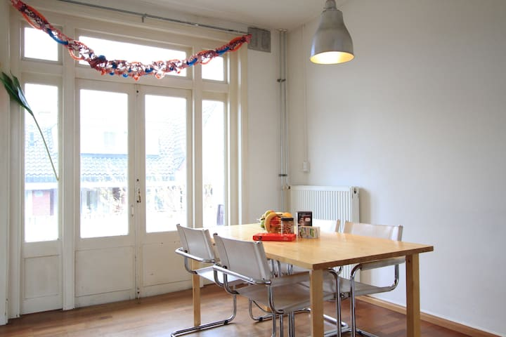 Spacious 3-person Cosy Room 12 min Amsterdam - Зандам