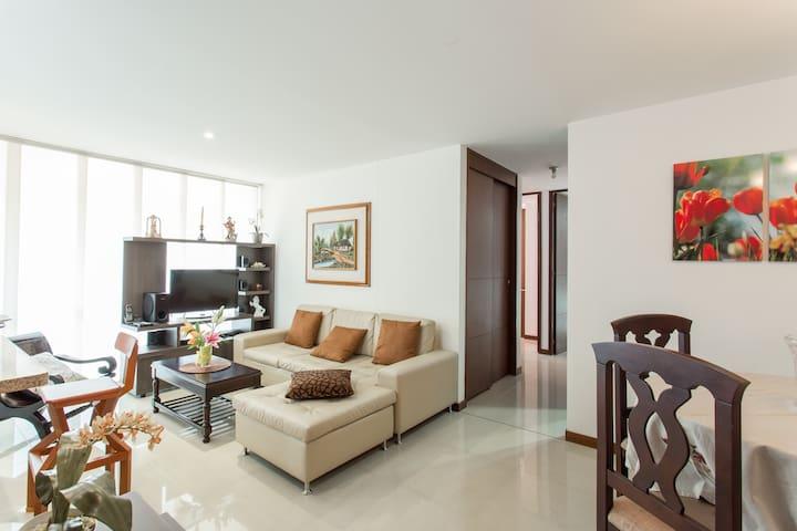 Beautiful apartment in Ciudad del Rio - Medellín - Appartement