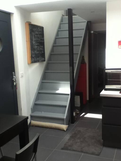 beau t3 bordeaux centre terrasse bois 2 sdb appartements louer bordeaux aquitaine france. Black Bedroom Furniture Sets. Home Design Ideas