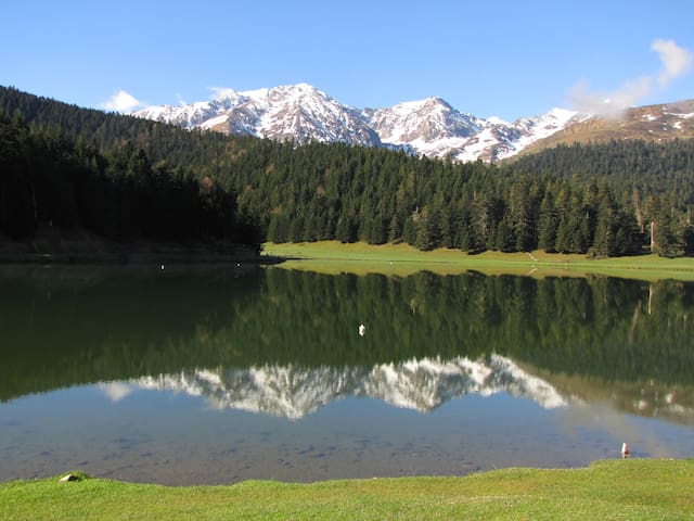 Hospedaje al centro de los pirineos - Campan - Huis