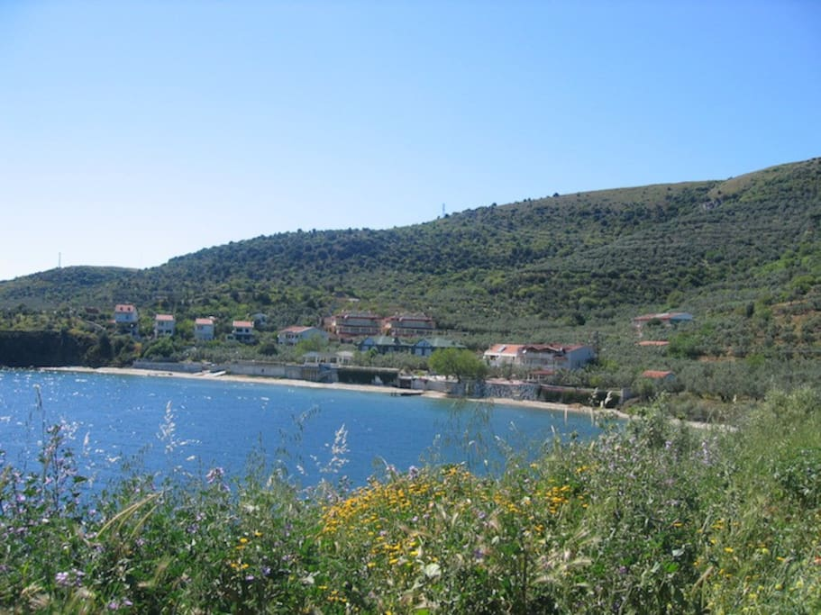 Bucht und Lage von ada-art guesthouse