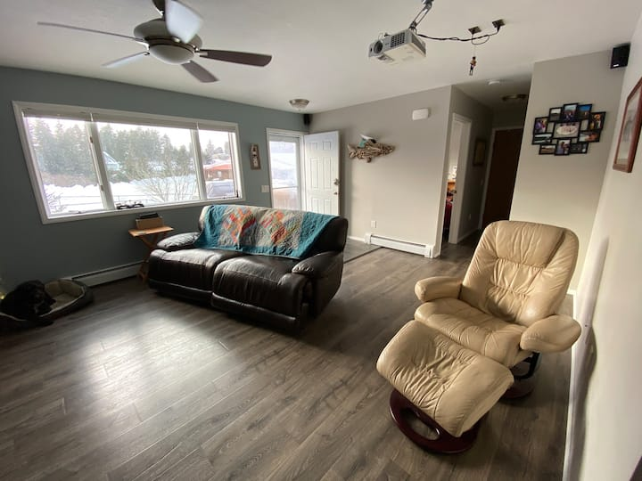 Quiet, Central, and Sunny Kodiak House