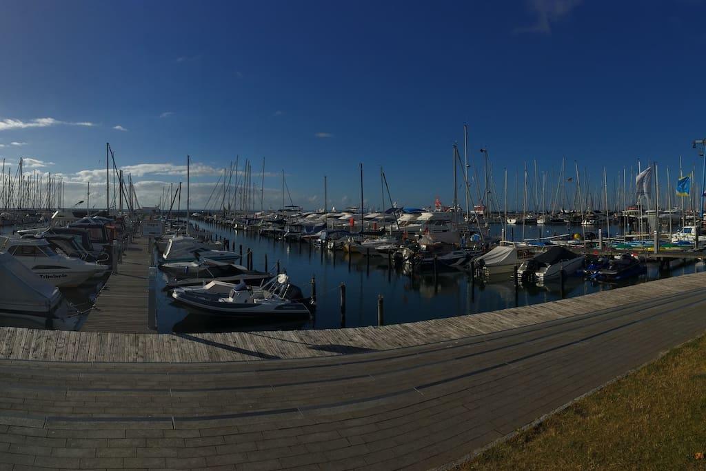 Hafen in Grömitz