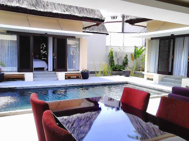 Beautiful 2 BR Anggrek Villa with Beautiful Pool