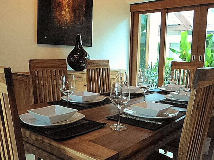 Would you like us to organise a special dinner for you during your stay?