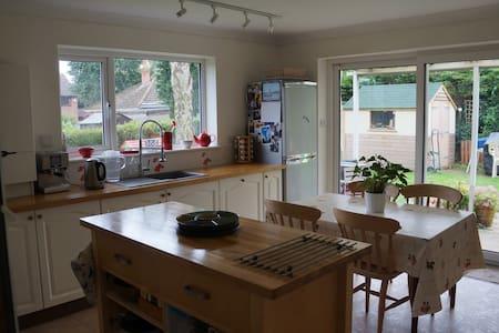 Comfy Flat in Woodbridge Suffolk - House