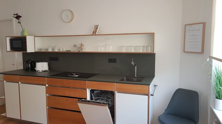 Great apartment in Berlin with two double bedrooms