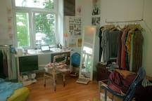 Studenten-Wg mit leeren Zimmern