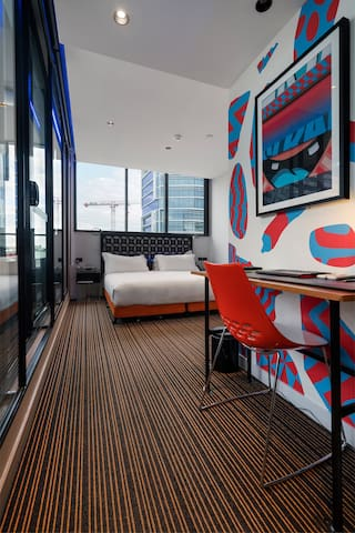 TRYP Fortitude Valley Hotel - King with Terrace