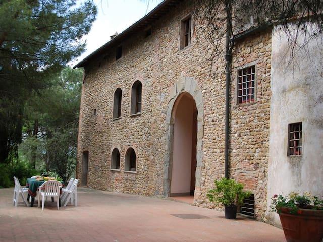 4 bd, views, gardens, pool - Malmantile - Villa