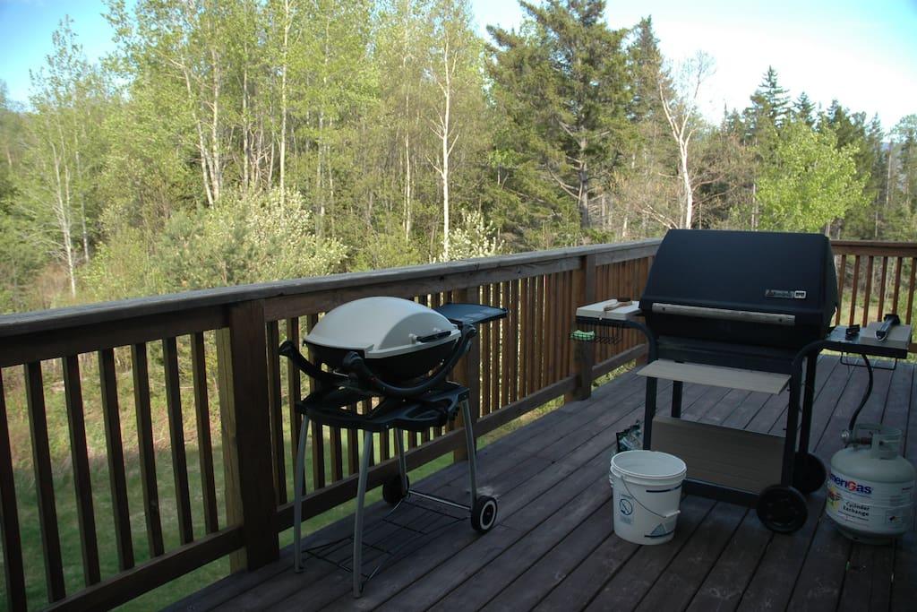 A quiet deck