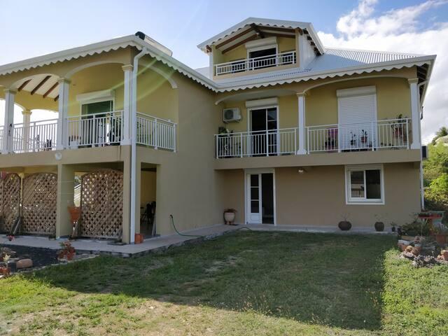 La Villa des Sucriers, à Sainte-Anne en Guadeloupe