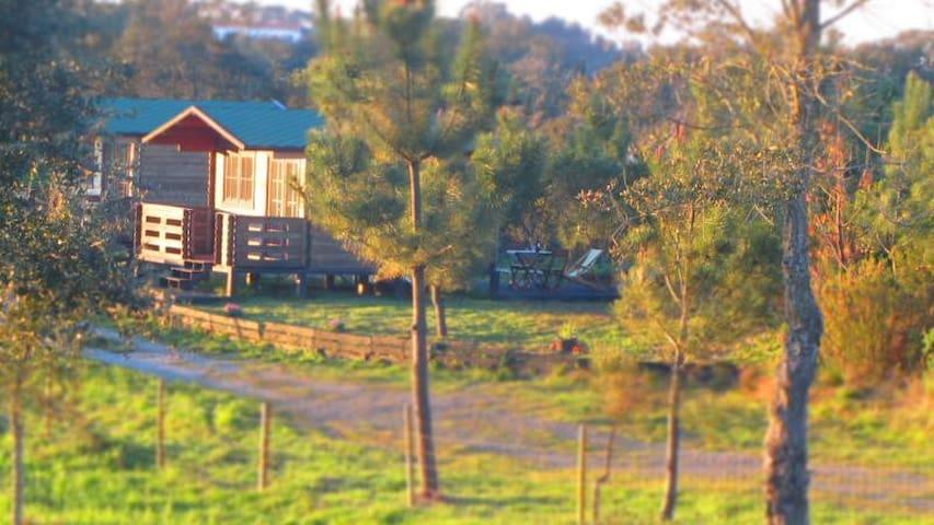 casas de madeira perto da praia - Vila Nova de Milfontes - Casa de campo