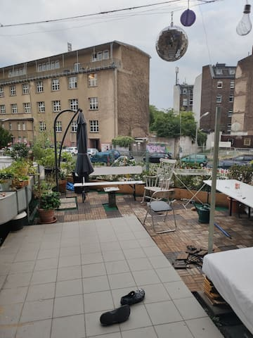 4 Zimmerwohnung mit Dachterrasse in der Südstadt
