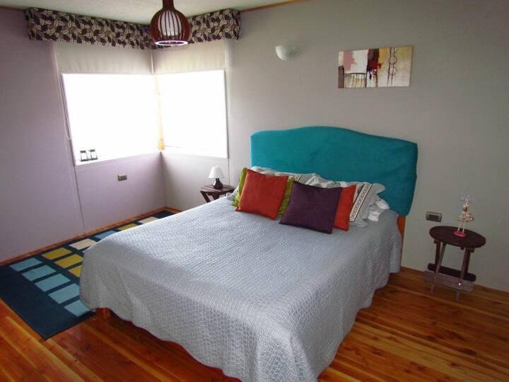Bed & Breakfast para parejas o familias villarrica