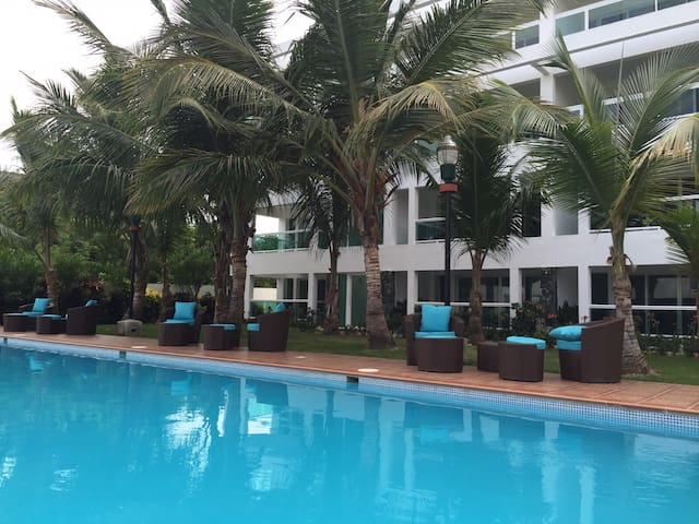 Ideal 2-Bdrm Stay at Retiro Bavaro - Punta Cana - Lägenhet