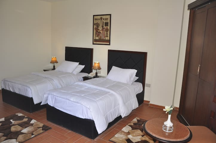Best View Pyramids Hotel Double & Single Beds