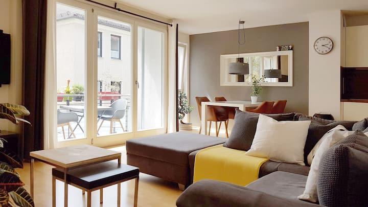 Dream apartment 2 Rooms, Balcony, center of Munich