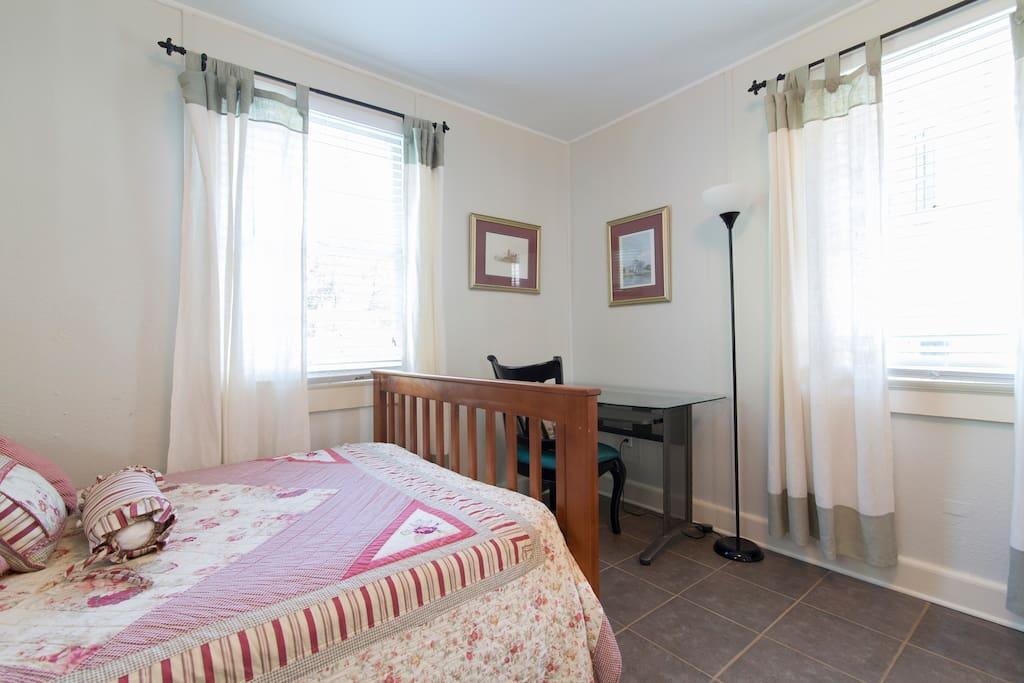 Master Bedroom with desk