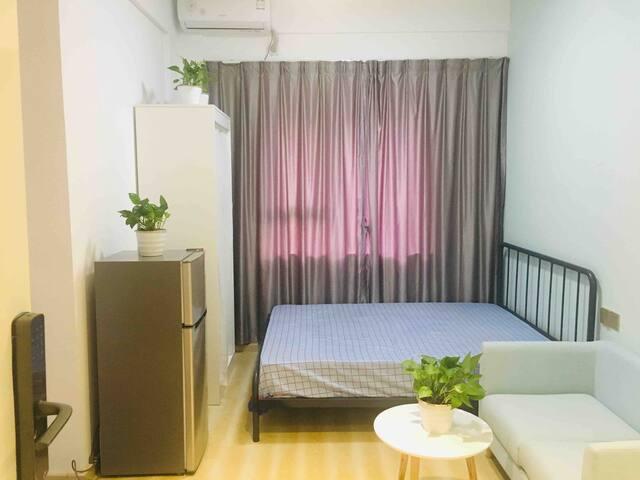宝安中心 靠近坪洲地铁站 舒适单身公寓