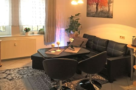 Cosy apartment with terrace in Wernigerode in the Harz region.