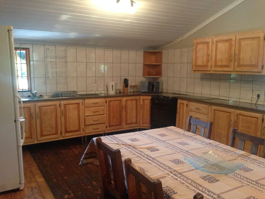 Communal Kitchen and Living area