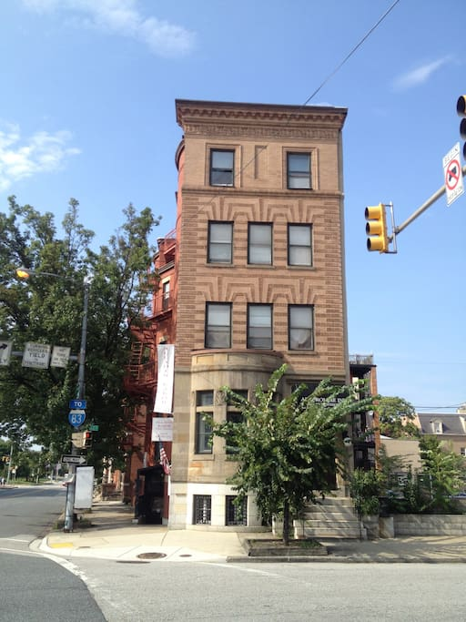 58 W. Biddle Street in the heart of historic Mt. Vernon