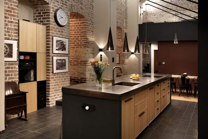 American Loft in the Heart of Prague