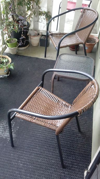 """Front Porch, where you can """"people watch"""""""
