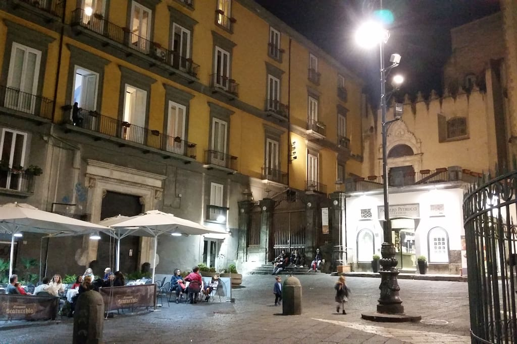 piazza San domenico Palazzo Petrucci