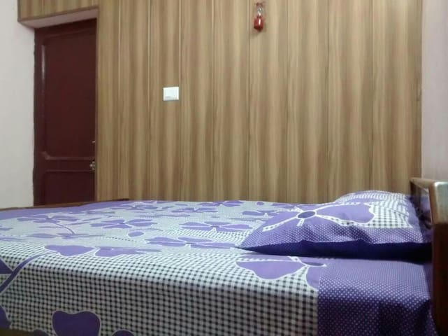 Furnished Room with Double Bed