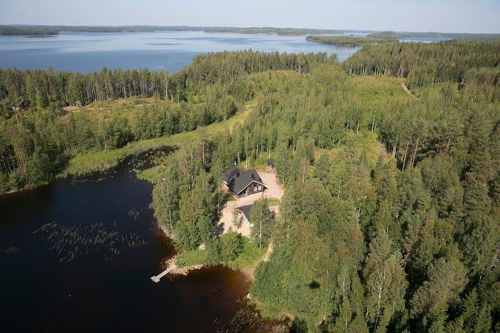 Norppatorppa log cabin for 6