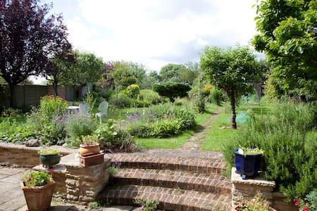 Double en-suite, Summertown, Oxford - Oxford - Bed & Breakfast