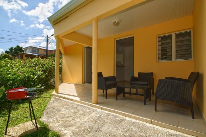 Villa 2 chambres climatisées FDF proche CHU PZQ