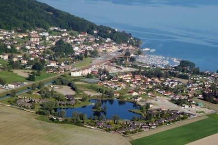 Bouveret, vue incroyable sur le Lac Léman - Port-Valais - Apartamento