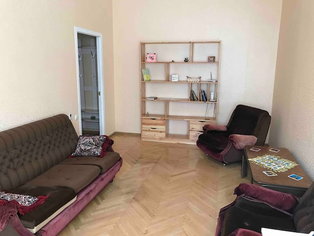Affordable apartment in city center